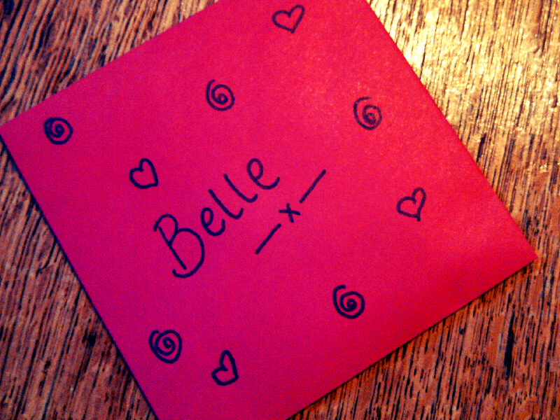 """Belle's bribe"""