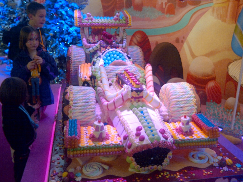 """Wreck it Ralph Sugar Rush car"""