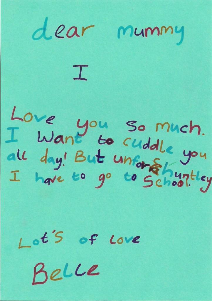 """""""Love letter"""""""
