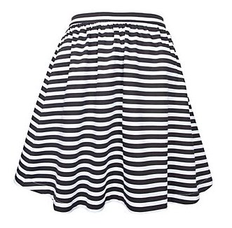 """Sailor striped skirt"""