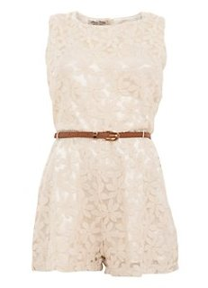 """lace playsuit"""