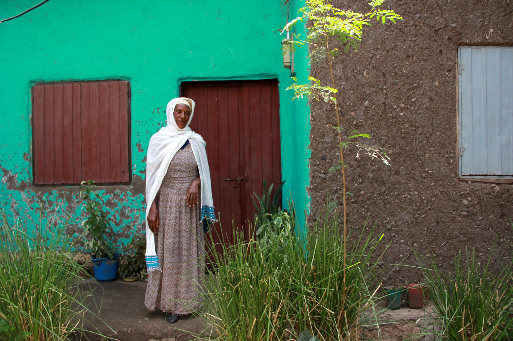 Zewde Mulatu took her four children to a feeding centre in Antsokia in 1984. All of them survived.