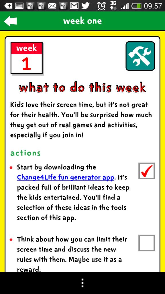 Smart restart app