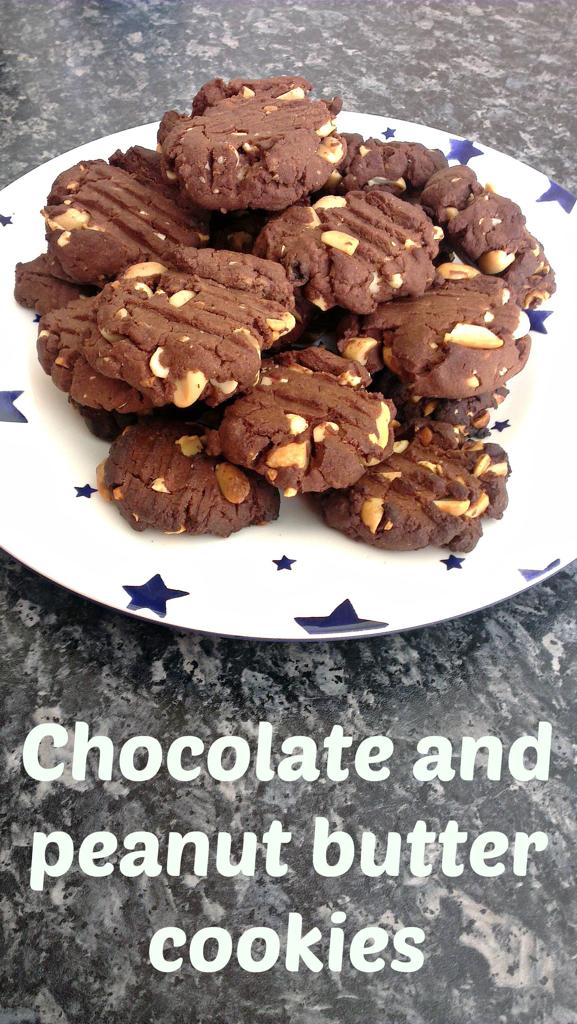 RECIPE: Chocolate and peanut butter cookies - Slummy single mummy