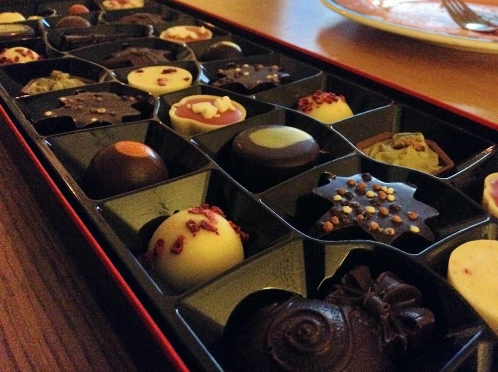 Hotel Chocolat Christmas selection