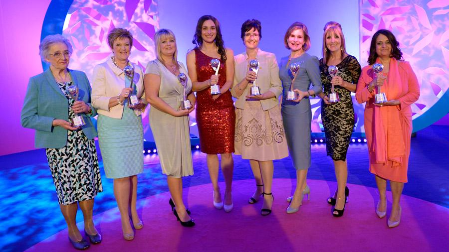Tesco mum of the year awards winners