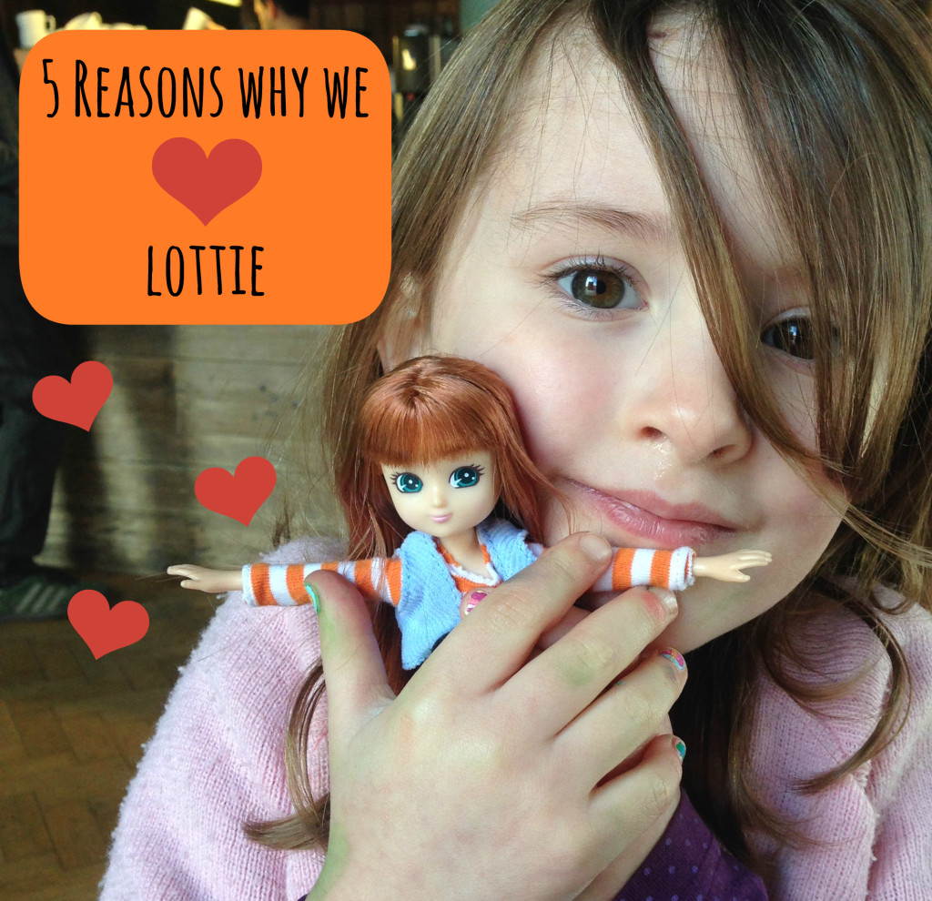 Emma and her Lottie Doll