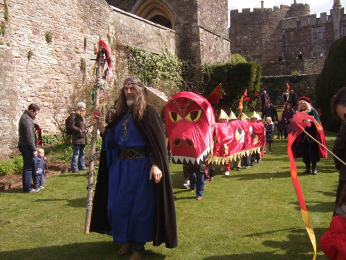 Berkeley castle Easter acitivties