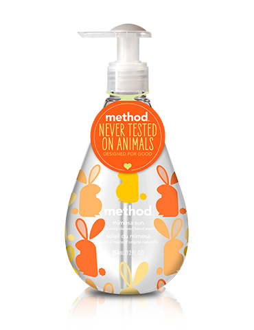 Method hand wash cruelty free
