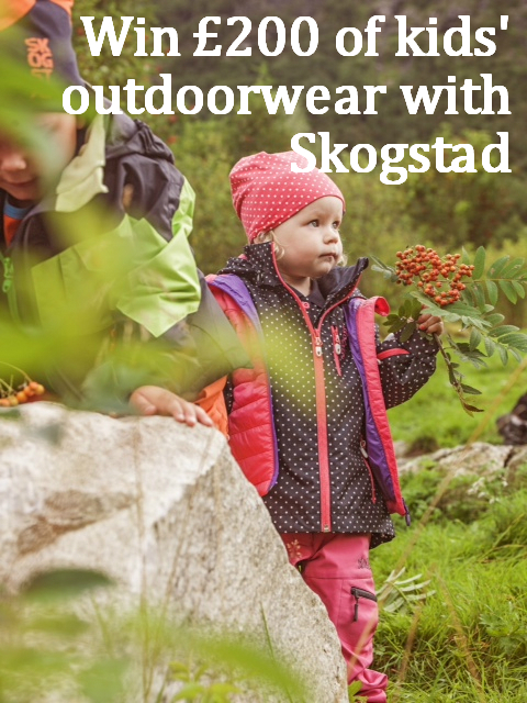 Skogstad outdoor clothes for kids competition