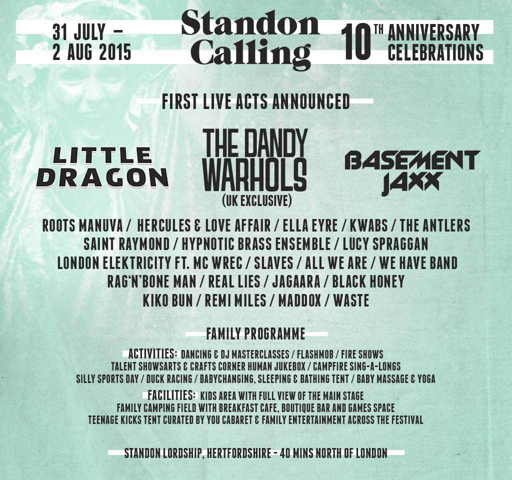 Standon Calling line up