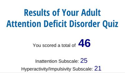Adult ADHD quiz