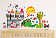 Witty Doodle nursery wall stickers