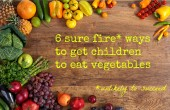 get children to eat vegetables