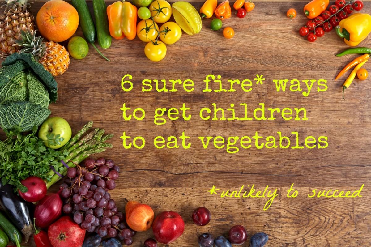 get children to eat vegetables