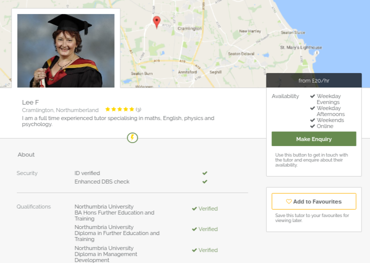 private tutor Approved Tutors