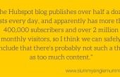 how often should I blog?