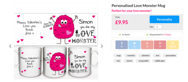 horrible tacky valentine's gifts