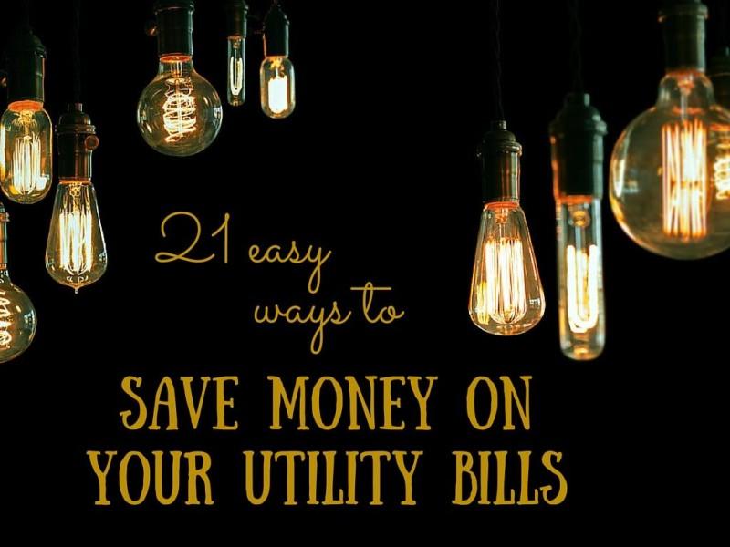 save money on utilities bills