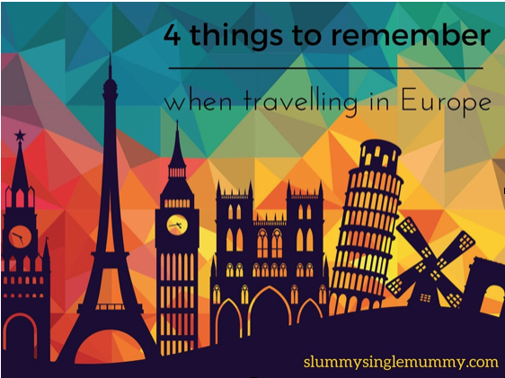travelling in Europe