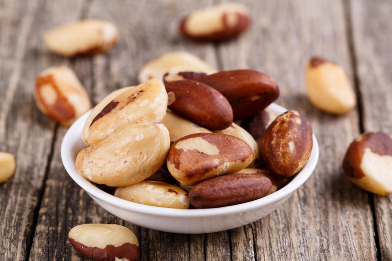 brazil nuts self control over eating