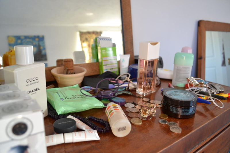 dressing table makeover tidying tips