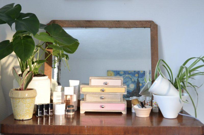 Slummy single mummy dressing table makeover tidying tips