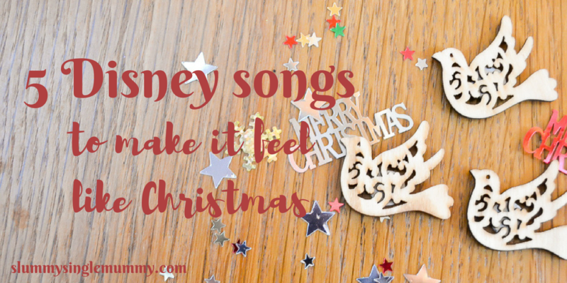 disney Christmas songs