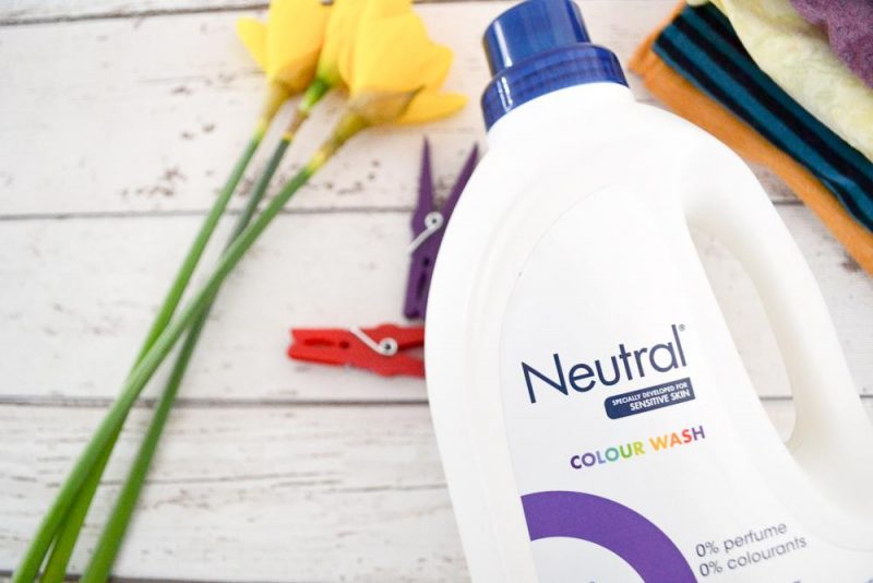 Neutral 0% washing liquid sensitive skin
