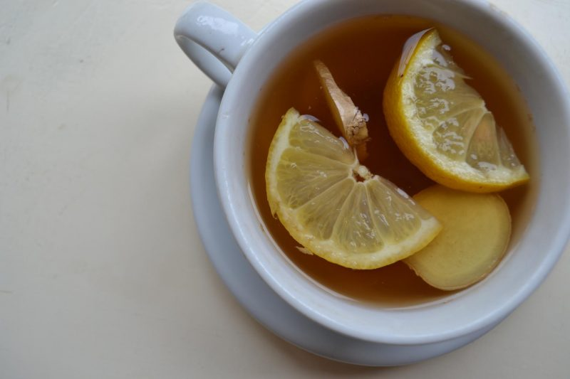 hot lemon and ginger