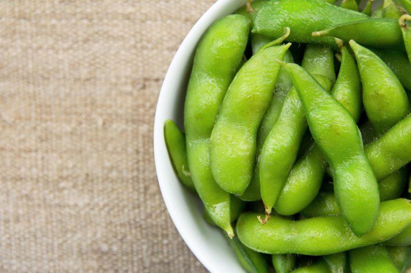 frozen edamame beans