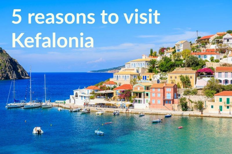 reasons to visit Kefalonia
