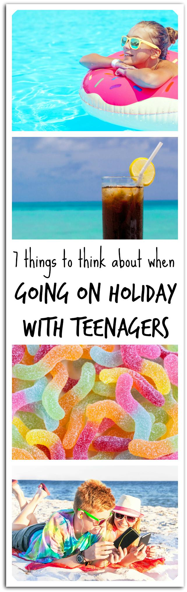 tips for holidays with teenagers