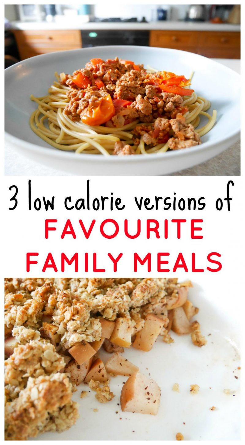 low calorie family meal ideas