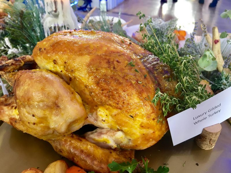 Iceland Christmas range gilded turkey