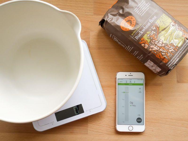 Peanut butter cookies 20 salter discount code slummy for Bluetooth kitchen scale