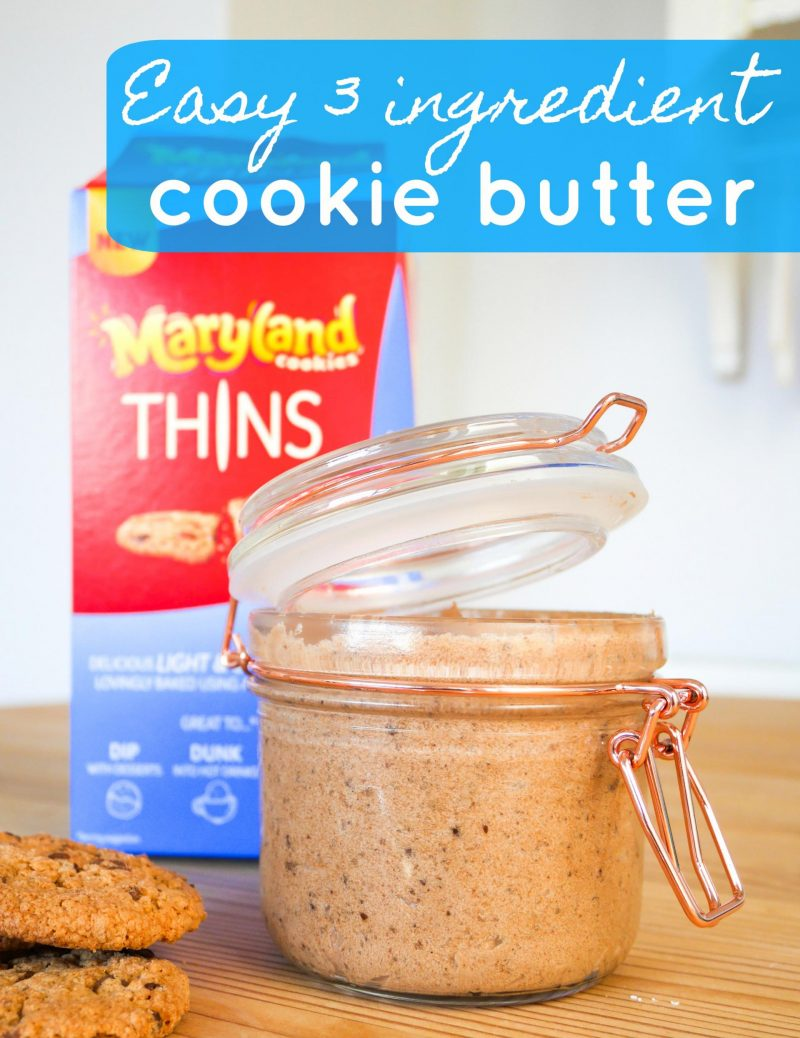 recipe cookie butter spread Maryland Cookies