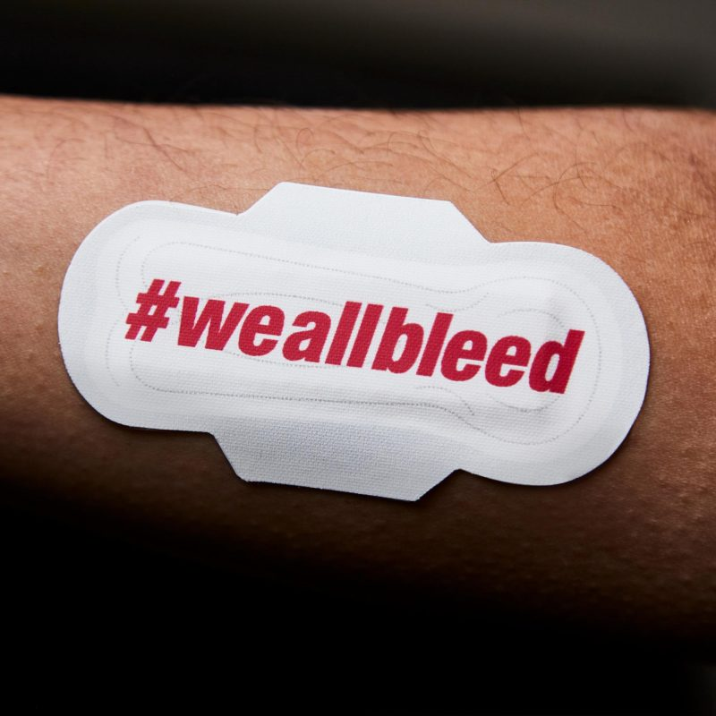 plaster pads blood is blood campaign