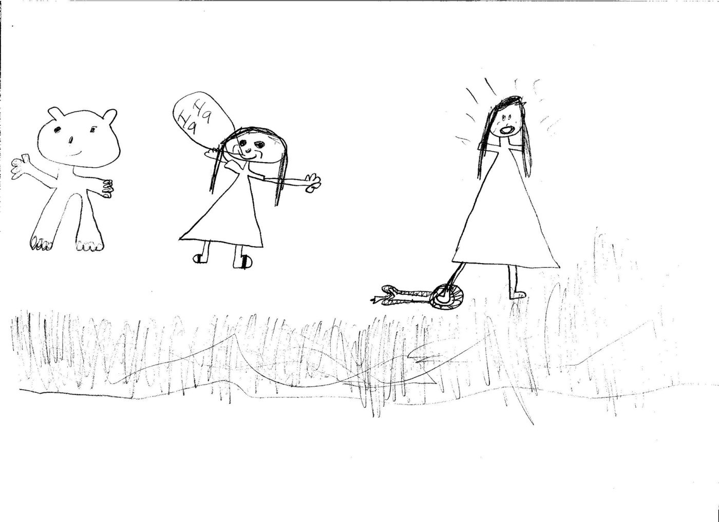disturbing kids drawing