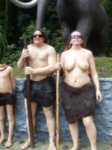 Wookey Hole cavewoman