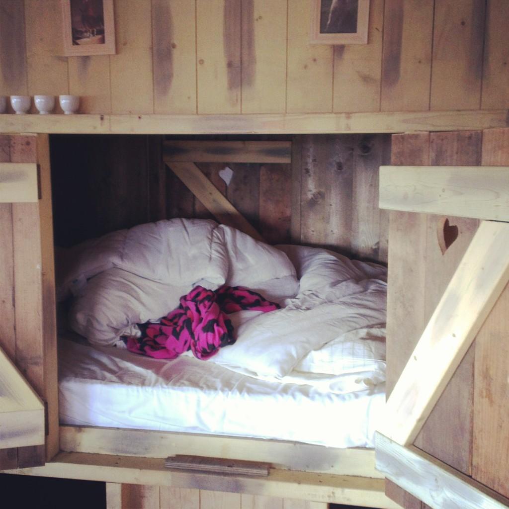Belle's cupboard bedroom