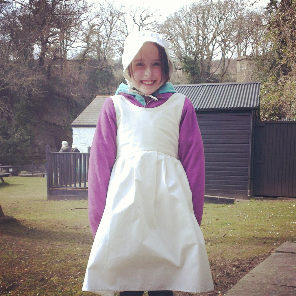 Dressing up at the National Trust