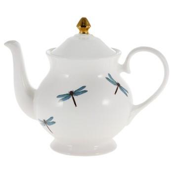 Melody rose drangonfly teapot