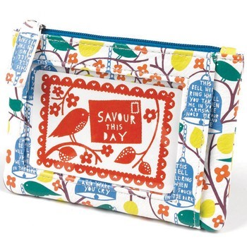 Rob Ryan faux leather coin purse