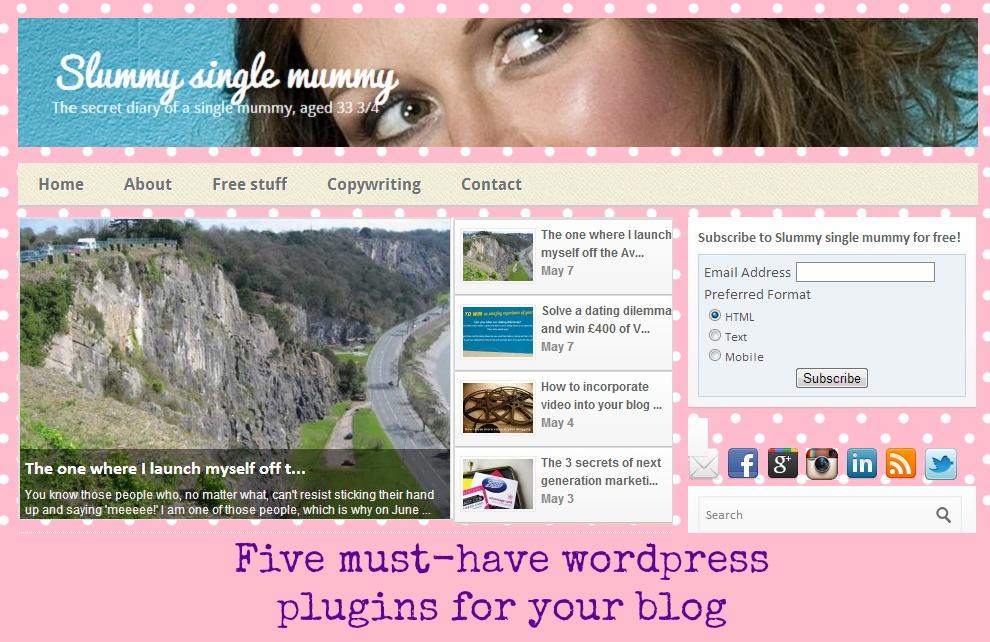 Five must have wordpress plugins