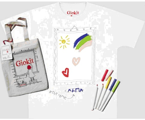 Colour in t-shirt