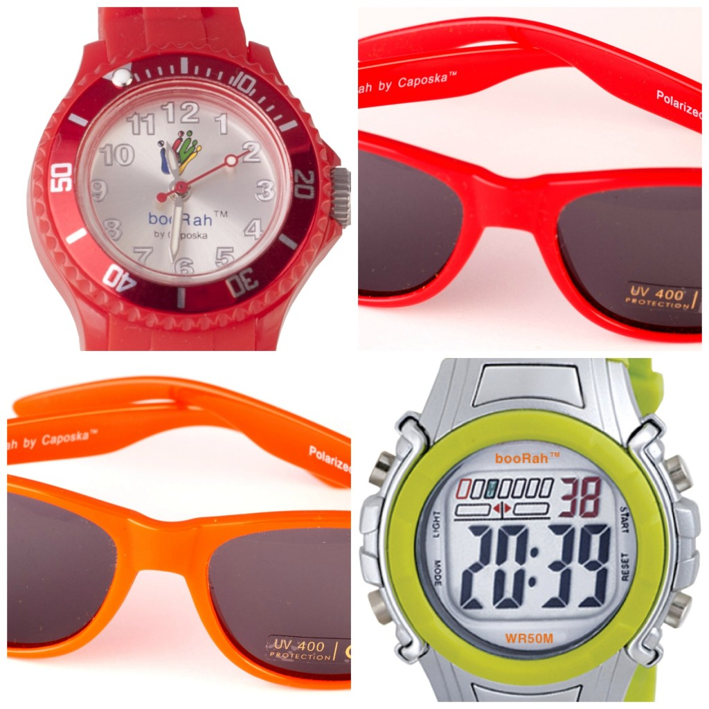 Boorah watch and sunglasses
