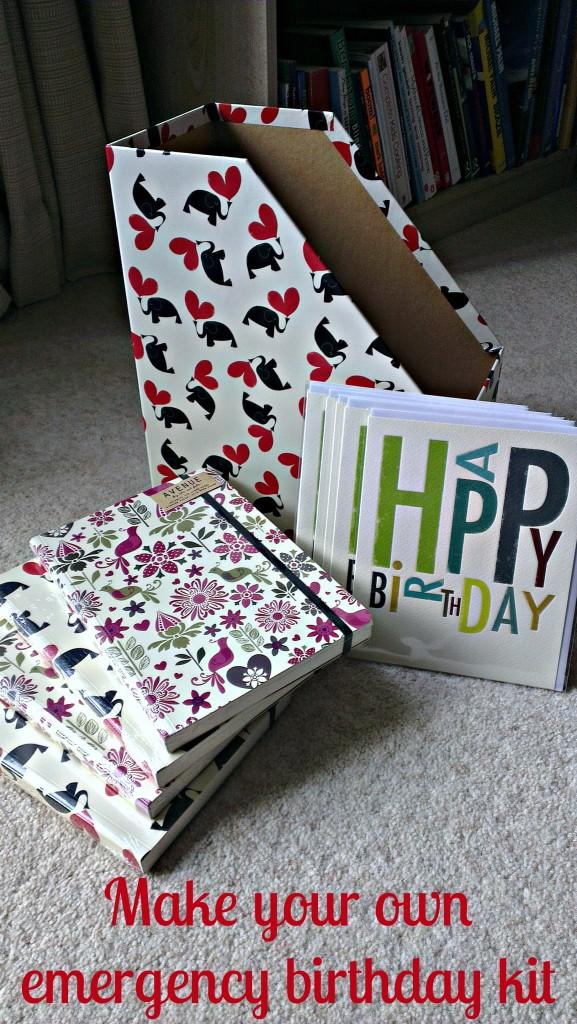 Emergency birthday kit