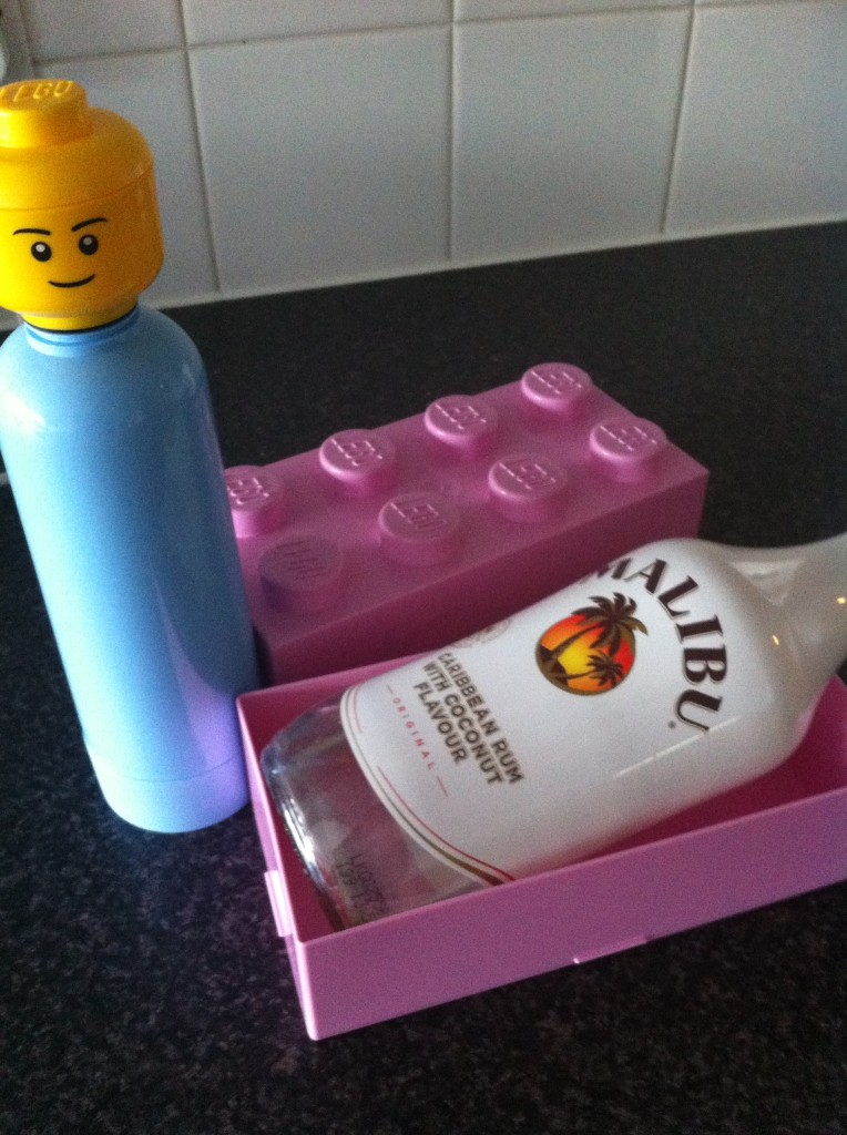 LEGO lunch box and flask