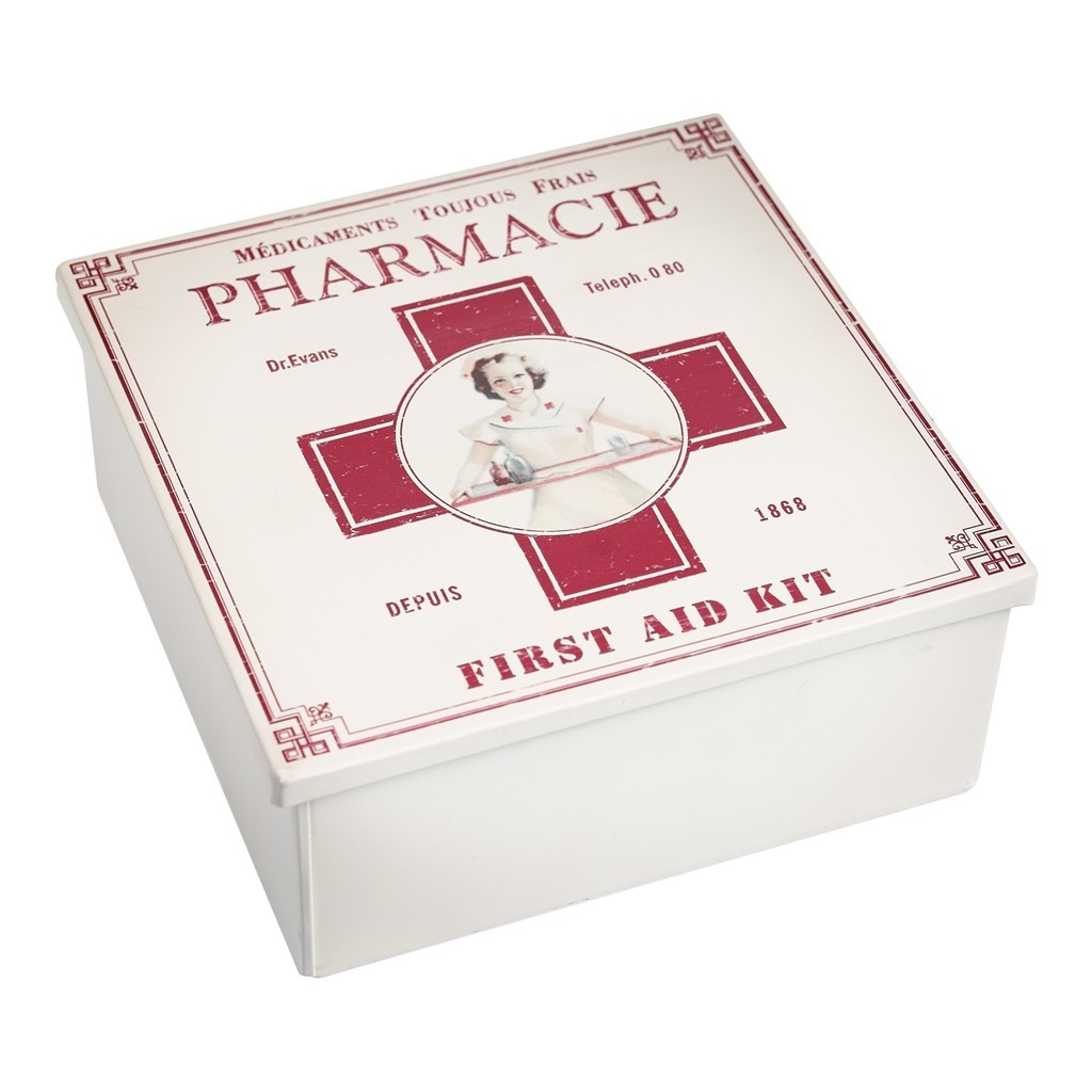 Vintage medicine box